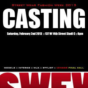 SWFW13 Casting