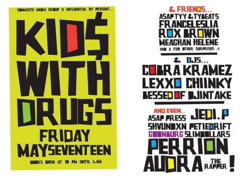 KIDS WITH DRUGS