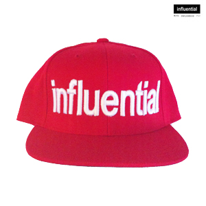 influentialNY Red Snapback