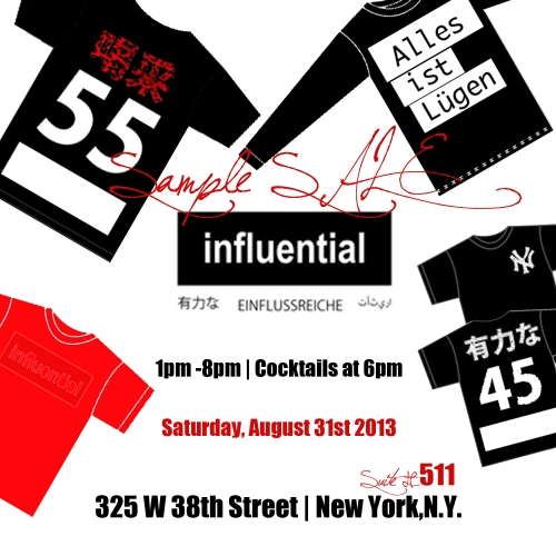 influential Sample Sale