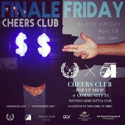 Chxxrs Club Vinny Cha$e Pop-Up Shop