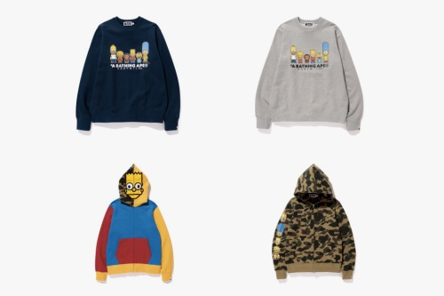 the-simpsons-bape-baby-milo-collection-2
