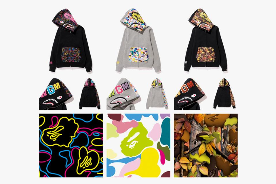 Bape Hoodie Tag Bape-nw20-shark-hoodies-1