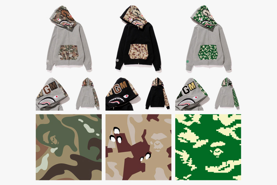 Bape Hoodie Tag Bape-nw20-shark-hoodies-2
