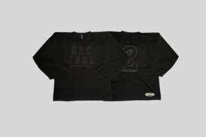 influentialNY 2nd Anniversary Jersey black