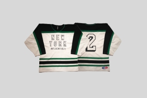 influentialNY 2nd Anniversary Jersey green
